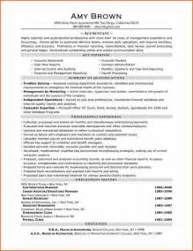 resume titles for accountants 5 senior accountant resume budget template letter