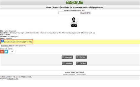 tubidy mobile mp3 audio 5 best ways on tubidy mp3 free downloads