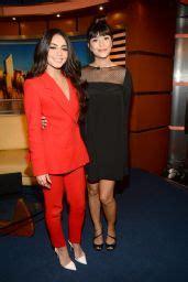 Vanessa Hudgens - At Good Day New York Fox 5 in NY 3/22 ...