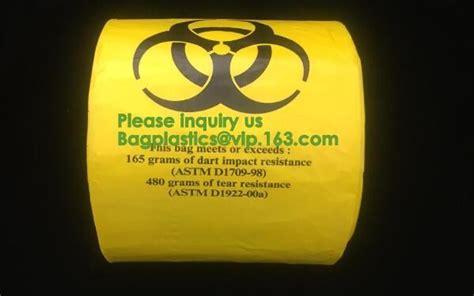 biohazard specimen zip top bag stock  custom plastic
