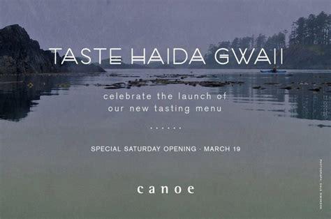 Taste Gaida Gwaii at Canoe