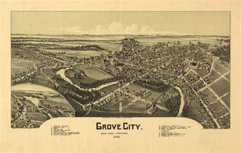 Historic Map – Grove City, PA - 1901