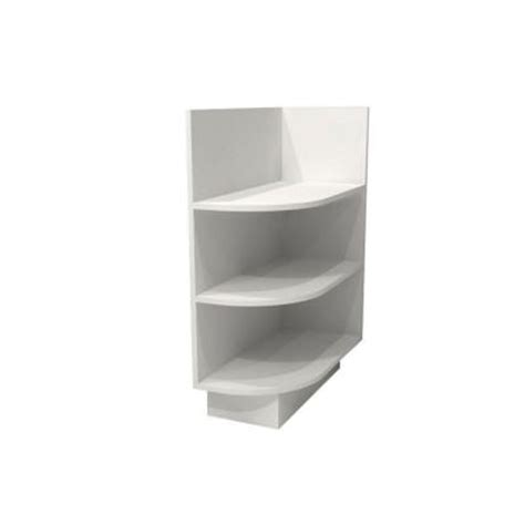 kitchen cabinet end shelf home decorators collection assembled 12x34 5x24 in base 5395