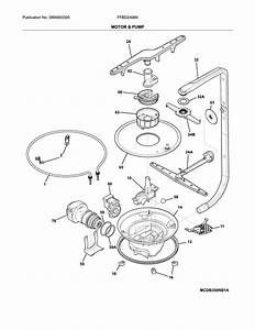 Frigidaire Model Ffbd2406ns11b Dishwasher Genuine Parts