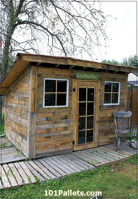 houses made out of sheds beautiful diy shed using pallets 101 pallets