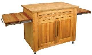catskill s empire work center butcher block island pull out leaves - Catskill Kitchen Island