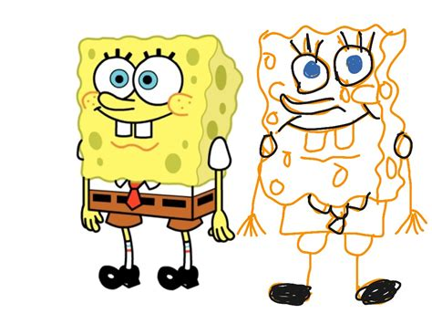 How To Draw Spongebob Squarepants!