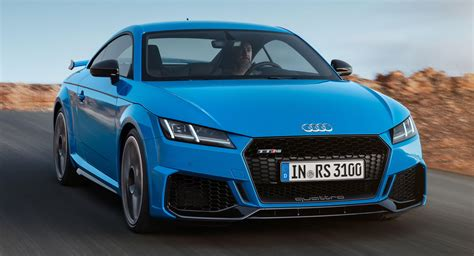 audi tt rs 2020 2020 audi tt rs gets a refresh 2 5 liter turbo five still