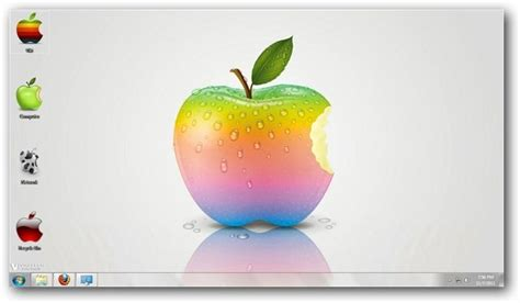 theme de bureau windows 7 les logos d 39 apple en thème de bureau pour windows 7