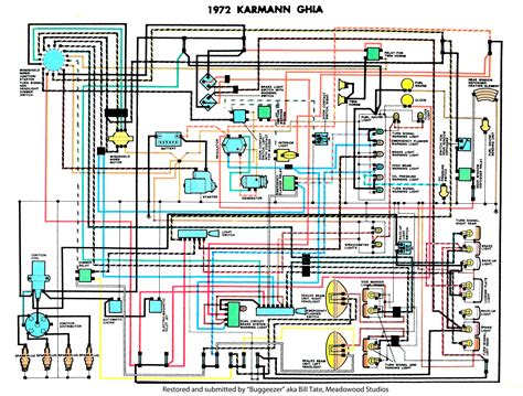 1984 Cj7 Brake Wire Diagram by Thesamba Karmann Ghia Wiring Diagrams