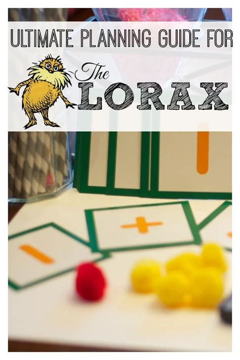 the lorax a guide to activities and lessons 748 | Ultimate Planning Guide to The Lorax1