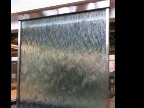 interior panels are water and custom glass water wall indoor waterfall amazing indoor