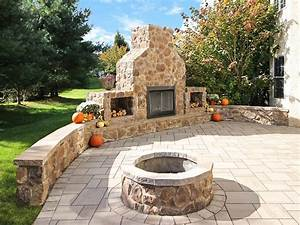 Outdoor, Gas, U0026, Wood, Burning, Fireplace
