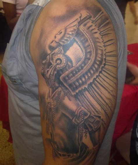 aztec warrior tattoos allcooltattooscom