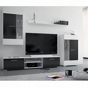 Ensemble Meuble Tv Conforama : meuble tv la maison de valerie ensemble meuble tv bravo ~ Dailycaller-alerts.com Idées de Décoration