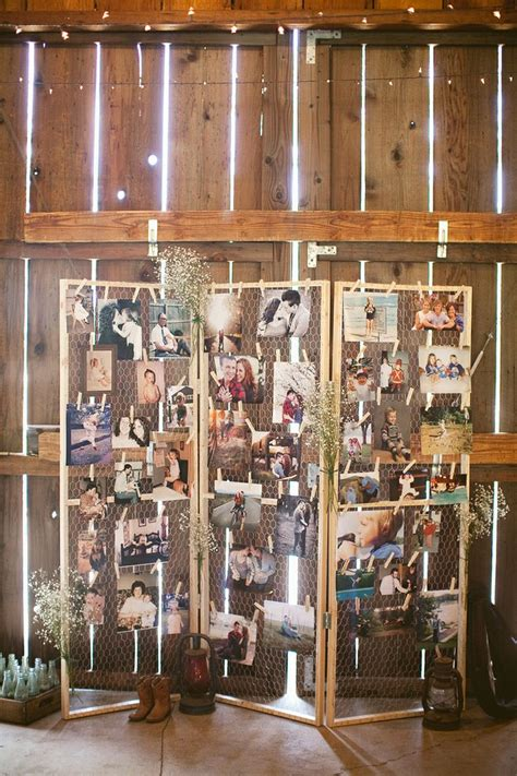 fabulous wedding photo display ideas reception