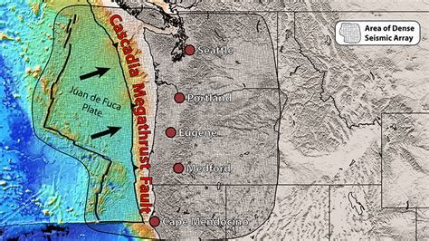 research sheds  light  tensions  cascadia fault