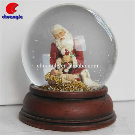 large christmas snow globe outdoor christmas snow globe