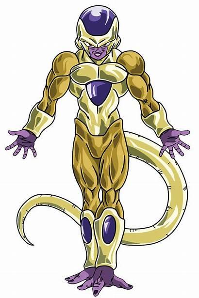 Frieza Golden Manga Goku Gogeta Anime Vector