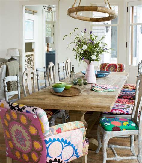 maison inspiration snapshot boho chic dining