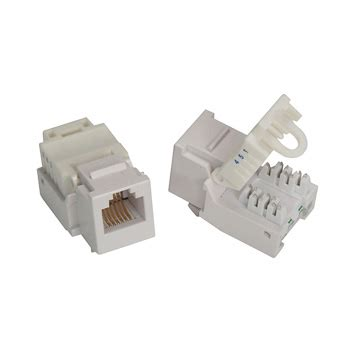 rj11 12 toolless keystone cat 3 connector