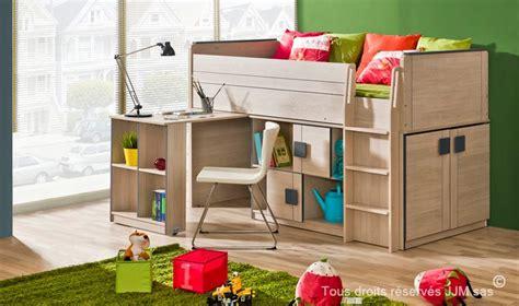 lit combine bureau lit enfant combine bureau 90x200 gum