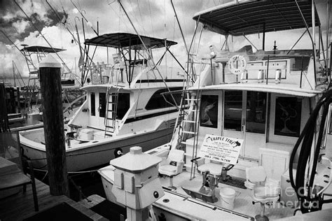 Charter Fishing Boats Key West Florida by Charter Fishing Boats In The Old Seaport Of Key West