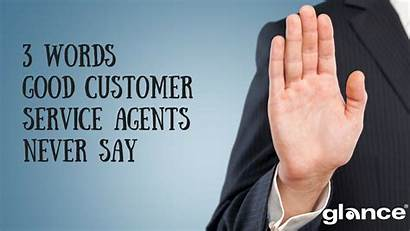 Customer Service Words Agents Never Say Screen