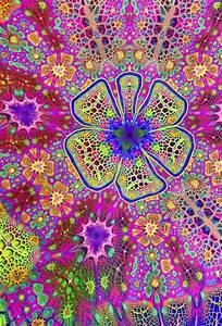 ॐ American Hippie Psychedelic Art ~ Pattern Design ...