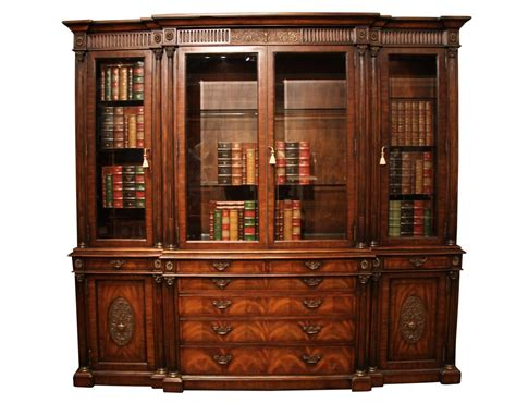 pictures of china cabinets antique mahogany china cabinet and bookcase