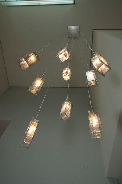 modern foyer lights modern blown glass pendants light