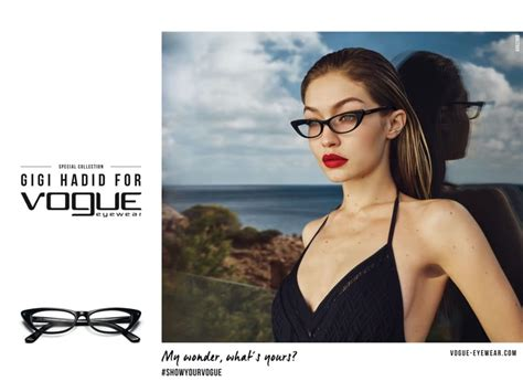 Vogue Eyewear reveals new styles from its Gigi Hadid ...