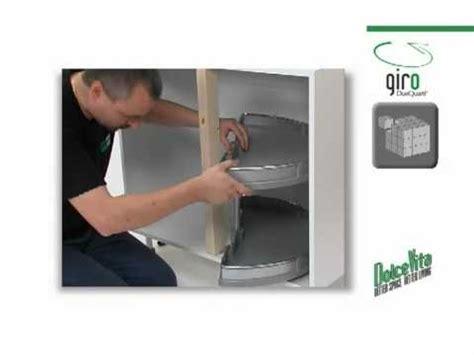 glissiere tiroir cuisine de montage du plateau tournant pour meubles d 39 angle