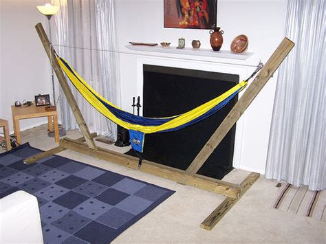 Hammock Stand Indoor by Diy Hammock Stand