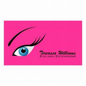 Lash extension business card templates page3 bizcardstudio for Lash extension business cards