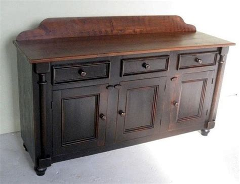 Farmhouse Sideboards And Buffets by Black 5ft Barn Wood Server Farmhouse Buffets And