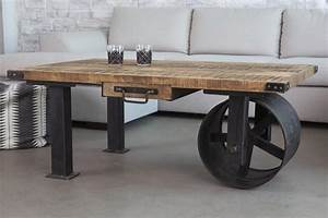 industrial design finds from furniture to accessories With industrial style coffee table with wheels