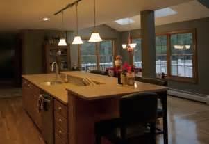 kitchen island area kitchen island with sink and raised area kitchen
