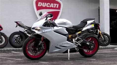 Ducati Panigale White by 2016 Ducati 959 Panigale Arctic White Silk At Cycles