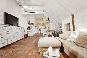 wohnzimmer shabby chic modern stunning attic apartment in modern and shabby chic styles digsdigs