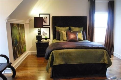 + Ideas About Green Brown Bedrooms On Pinterest