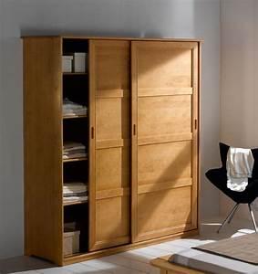 Prix D Une Porte De Chambre : armoire de chambre porte coulissante ~ Premium-room.com Idées de Décoration
