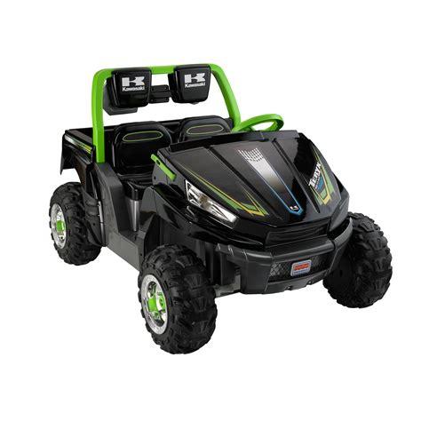 Kawasaki Atv Battery by Power Wheels 12v Battery Ride On Kawasaki Teryx Atv