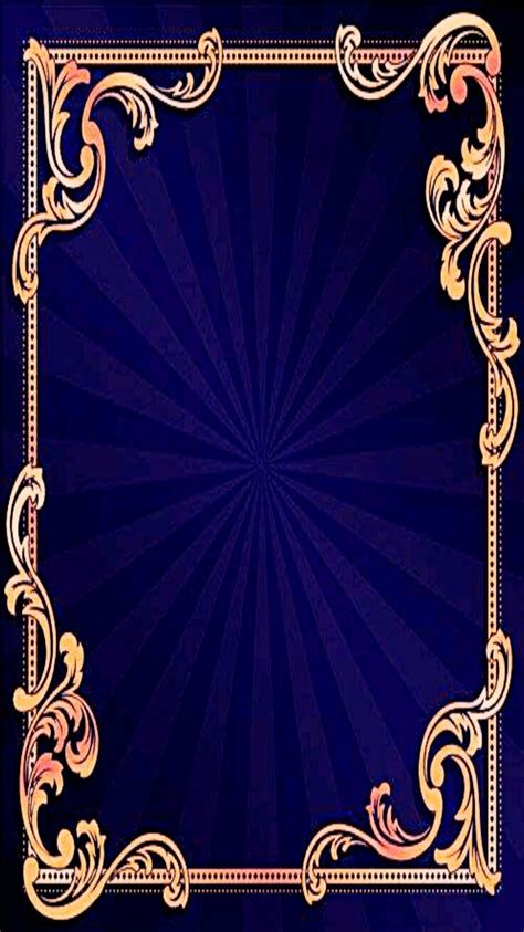 Gold Blue Wallpaper Background by Blue Gold Wallpaper Iphone Vertical Wallpapers Purple