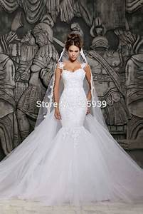 vintage sweetheart silver beads detachable train mermaid With custom made wedding dresses