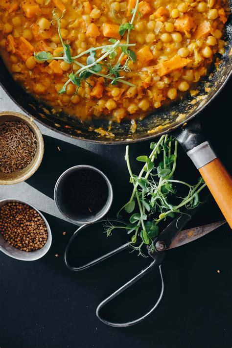 Turku zirņu - saldā kartupeļa karijs
