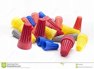 Pressure Wire Connectors Royalty Free Stock Images
