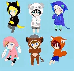 Chibi Anime Boy With Hoodie | www.pixshark.com - Images ...