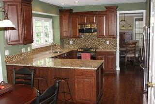 storage for kitchen appliances winchester cherry chocolate glaze by shenandoah cabinetry 5865