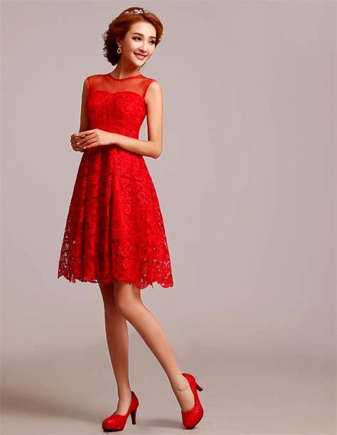 Short Red Lace Dress u2013 Online Fashion Review u2013 Fashion Gossip